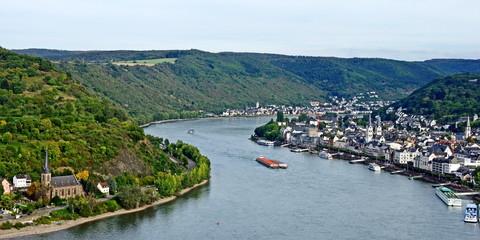 BOPPARD am Mittelrhein bei Koblenz