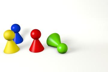 Spielkegel 3D