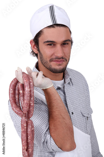 String of sausages