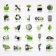 ecology icons reflection