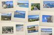 paysages de Corse sur diapositives