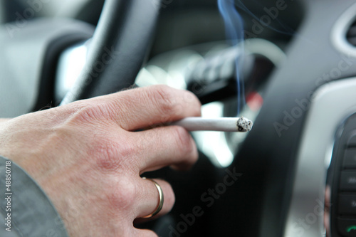 ban smoking in all vehicles