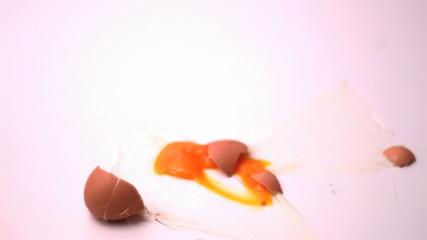 Egg breaking