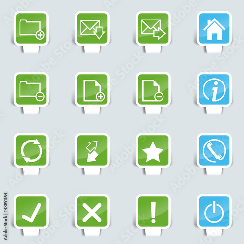 Papercut Webdesign upload icon