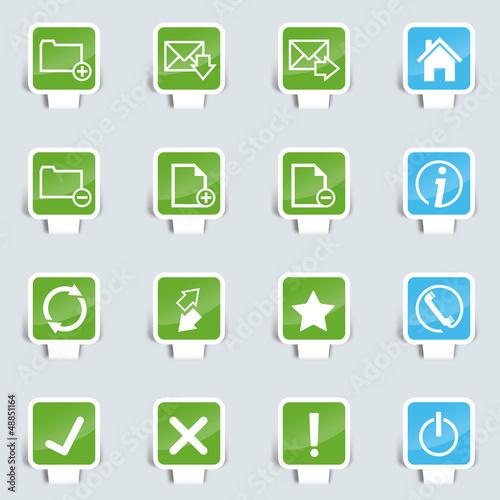 Papercut Webdesign upload icon