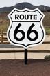 nostalgic route 66 sign