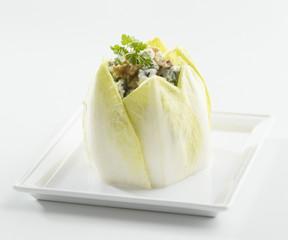 Salade endive bleu