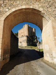Castillo y Parador Nacional de Alarcón, Cuenca, España.