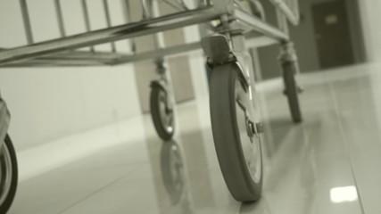 Wheel car in hospital