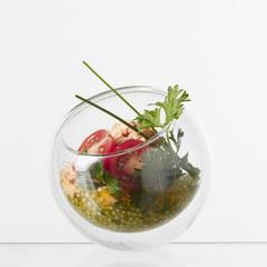 Thon et tomates aux perles du Japon