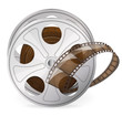 Reel of movie tape