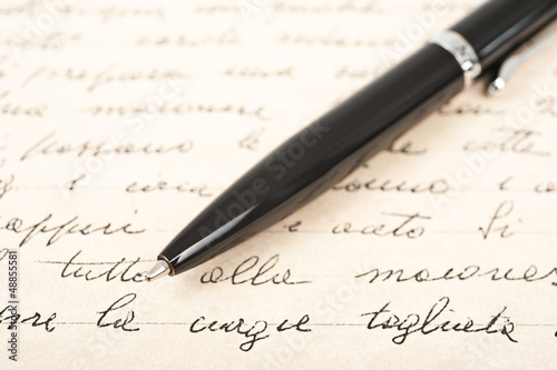 handwritten text