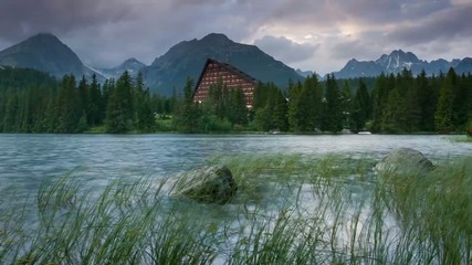 National Park High Tatra. Strbske pleso, Slovakia, Europe