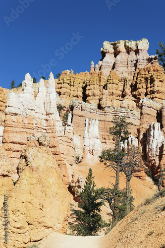 Track at famous Bryce Canyon