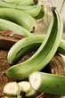 grenn male plantains