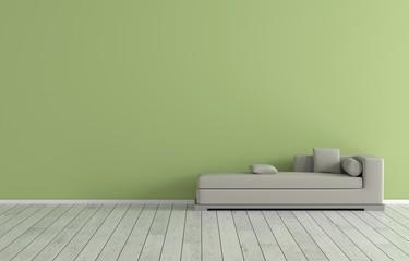 Innenraum - Grün