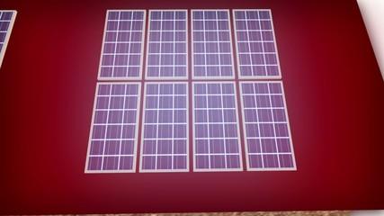 Solar Energie - Haus