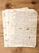 antique handwritings