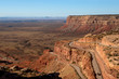 Moki Dugway, an unpaved dangerous road in Utah