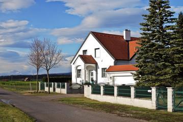 Einfamilienhaus am Ende der Straße