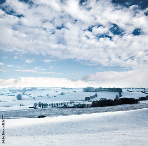 country snow scene