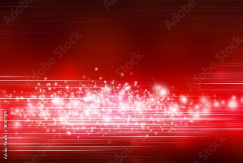 Hintergrund - Weisser Glitzer auf Rot