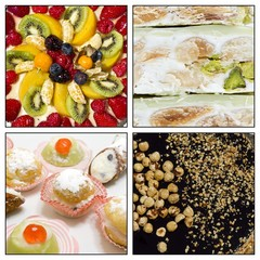 Collage - cakes