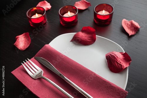 romantic display