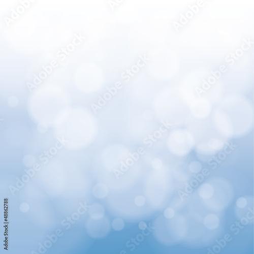 Hintergrund Blau Kreise mit Blend-Effekt