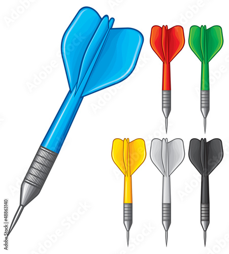set of darts