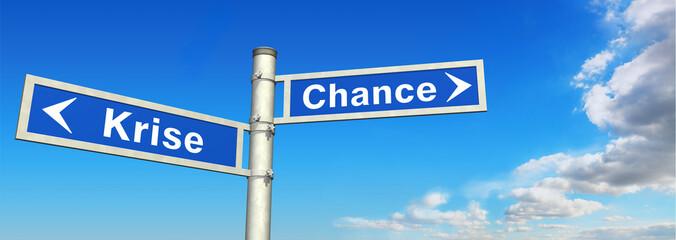 Krise oder Chance?