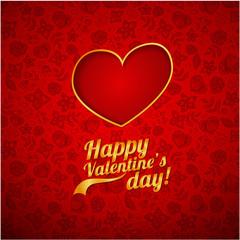Valentine's background. happy Valentine's day