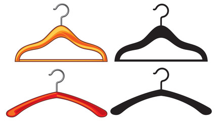 clothes hangers collection