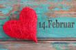 Herz - Valentinstag