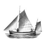 Sailing Boat - 19th century