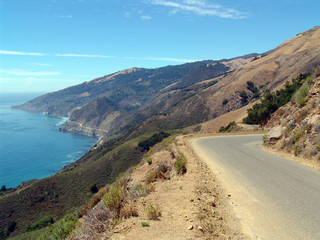 Pacific Coast Highway in Big Sur, California, USA