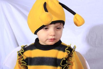 carnevale bambina ape