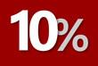 10 % Rabatt Aktion Angebot Sonderangebot WeissROT