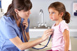 Child Patient Visiting Doctor's Office