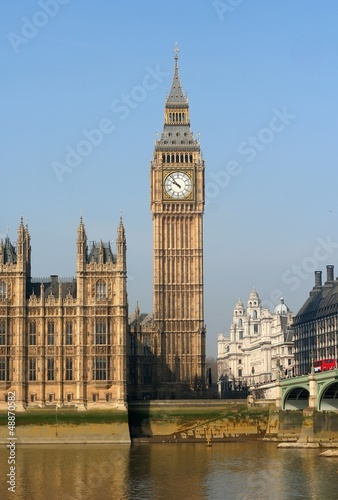 The Big Ben, the House of Parliament - 48870582