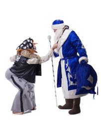 Baba Yaga and Father Christmas