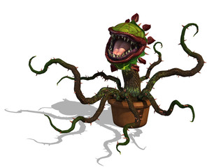 Hungry Carnivorous Plant