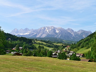 Austria,Alps-outlook of the Schladming and Dachstein