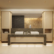 luxury bathroom. Modern style