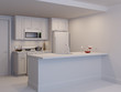 Mini kitchen. White model