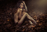Fototapeta beautiful - beauty - Woman