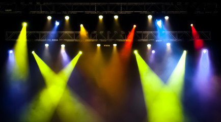 Iluminación de concierto