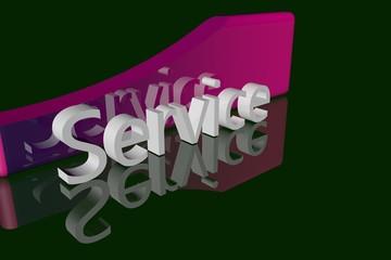 Service Violett