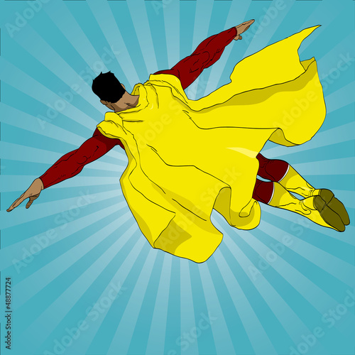 Papiers peints Super heros Hand drawn vector superhero