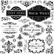 Vintage Ornament Calligraphy Set - 48878590